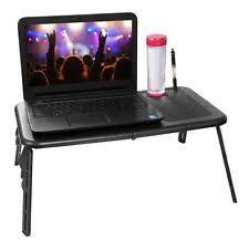 Lap Desk With Fan Laptop Stand Ebay