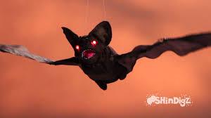 animated flying bats