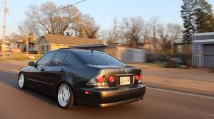stanced lexus is300 static and flush is300 youtube