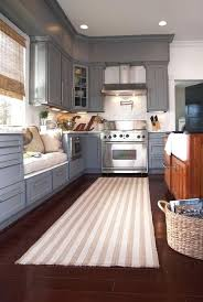 Black Kitchen Rugs Black And White Kitchen Rug Tapinfluence Co