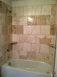 Bathroom Tile Shower Ideas Fantastic Tile Shower Ideas Supreme Ite Oval Standart Tub As Well