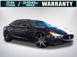 2015 Maserati Ghibli Interior Used White Maserati Ghibli For Sale Edmunds