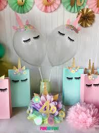 unicorn balloons set 2 unicorn party balloons 11 inch