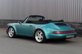 porsche 911 964 turbo porsche 911 964 2 cabriolet turbo look 1993 for sale by