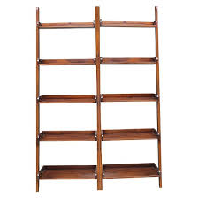 Easy Crate Leaning Shelf And by Leaning Ladder Shelf Target