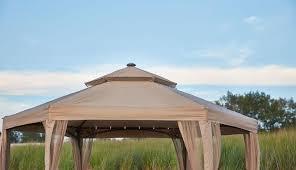 10 x 10 outdoor gazebo canopy w mosquito netting