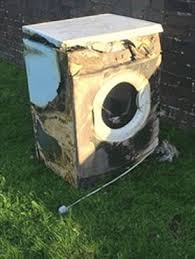 tumble dryer blaze warning alert to families over hotpoint