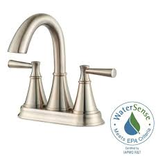 pfister cantara 4 in centerset 2 handle bathroom faucet in