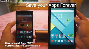 how to deploy apk to android phone how to install incompatible apps on android apk extractor