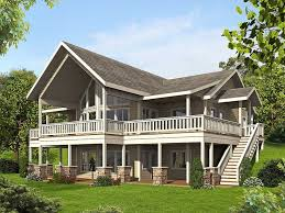 Home Plans For Sloping Lots Best 25 Mountain House Plans Ideas On Pinterest Mountain Home