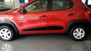renault kwid red colour renault kwid top model 2015 interiors u0026 exteriors youtube