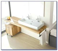 trough sink two faucets small trough sink why small trough bathroom sink with two faucets is
