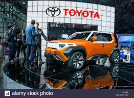 toyota 2017 usa new york usa 12th apr 2017 toyota showed its ft 4x concept suv