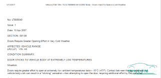 gia xe lexus s600 xe land rover có cửa không mở được khi thời tiết ở nhiệt độ thấp