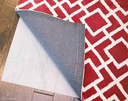 Red Washable Rug Nonslip Area Rugs Shop