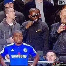 Brushing Teeth Meme - throwback when a chelsea fan was brushing his teeth at stamford