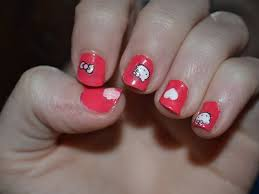 nice 10 beautiful hello kitty nail designs all new hairstyles