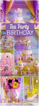 tea birthday esmie bday celebrations teas