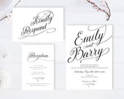 cheap wedding invitations packs black and white wedding invitations lemonwedding