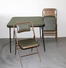 vintage samsonite folding table and chairs ebth