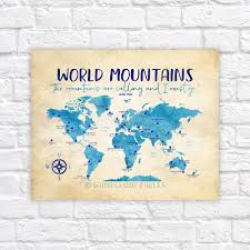 Mountains Of The World Map by World Mountains Map Famous Mountains Of The World Take Me To
