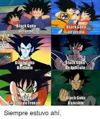 Goku Memes - memes de black goku anime amino