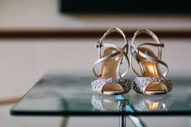 wedding shoes house of fraser blush wedding at almonry barn somerset with mori bridal gown