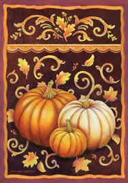 Custom Decor Garden Flags Custom Decor Flag Fall Pumpkins Decorative Flag At Garden House