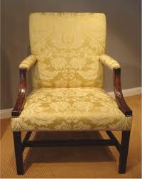 georgian gainsborough armchair antique mahogany armchair