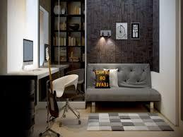 Small Work Office Decorating Ideas Feminine Office Decor Small Recessed Lamp Light Brown Wood Floor