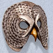 owl mask owl mask for wall hanging can be made to look more cartoonish in