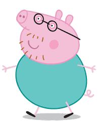 daddy pig peppa pig fanon wiki fandom powered wikia