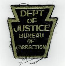correction bureau dept of justice bureau of correction black 16 2322 3 00