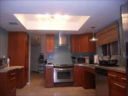 kitchen room kitchen recessed lighting light fixture above