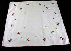 what size tablecloth for card table vintage linen card table set embroidered tablecloth and napkins