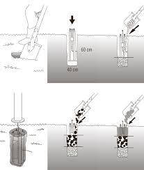 concrete bollard lighting fixtures concrete free foundation for bollard lighting