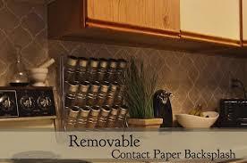 removable kitchen backsplash removable contact paper backsplash for just 3