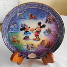 40th anniversary plates disneyland collector plate 40th anniversary it s a small world