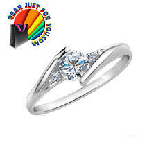 platinum crystal rings images Women 39 s luxurious platinum plated heart shape cubic zirconia png