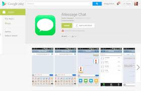 imessage chat apk unoffical imessage chat app pulled from play store