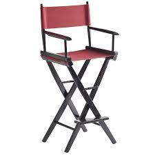 director u0027s chair bar stool black frame pier 1 imports