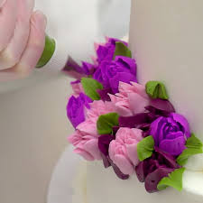 flower decorating tips decopac how to decorate a flower cake with russian decorating tips