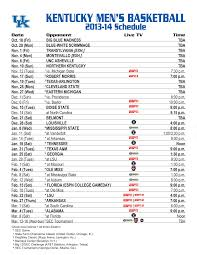 uk basketball schedule on tv 25 images of uk basketball template diygreat com