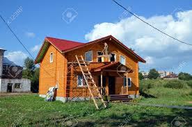 Holzhaus Verkauf Vologda Siedlung Eine Ausstellung Und Verkauf Von Landhäusern