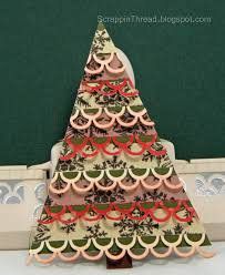 paper and fiber arts trees made with martha stewart and ek