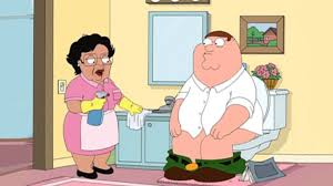Family Guy Cleaning Lady Meme - family guy consuela trolls peter in the bathroom youtube