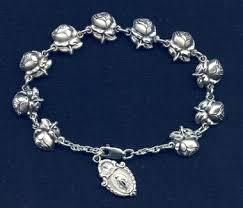 rosary bracelet of patron rosary bracelet
