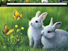 theme google chrome rabbit 13 spring chrome themes to warm up your browser brand thunder
