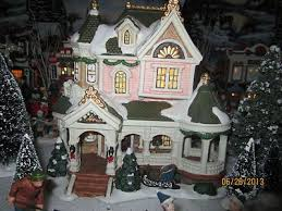 interior photos of the cottage and village towne model lemax village house carole towne the bowers house plus dept 56