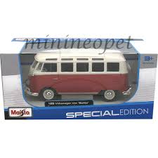 new volkswagen bus maisto volkswagen diecast micro bus vw samba van 1 25th scale 23